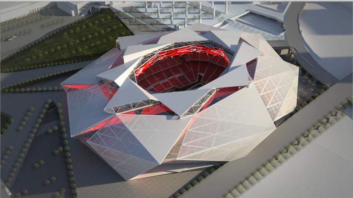 Ilyen lesz az Atlanta Falcons stadionja