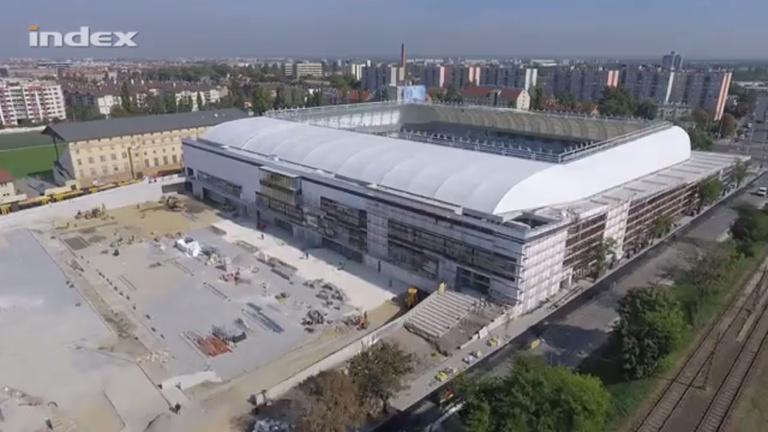 Faltól falig stadion az új MTK-aréna, megmutatjuk