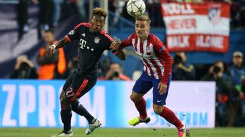 Az Atlético újra verte a Bayernt