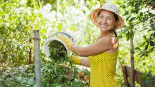 Olcsó fűtés zöldhulladékból: a komposztkazán