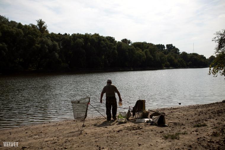 A horgászokra itt is ügyeljünk.