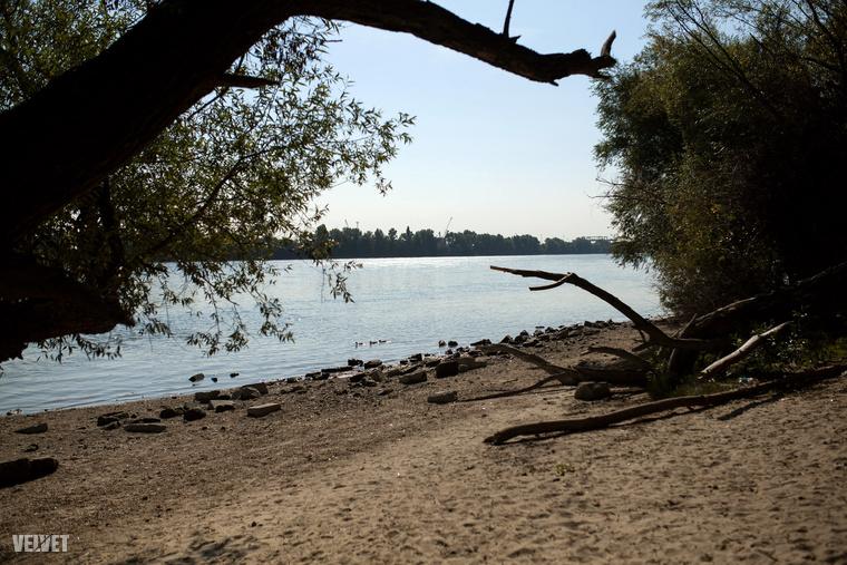 Sajnos nem lógathatjuk itt a lábunkat bármikor, ugyanis magasabb vízállás esetén a folyó utalja ezt a területet.