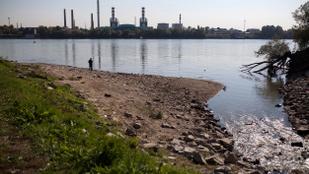 Nyárutó a Duna partján