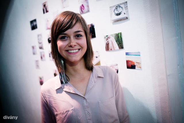 Domokos Dóra tervező, a Delacier márka alapítója.
