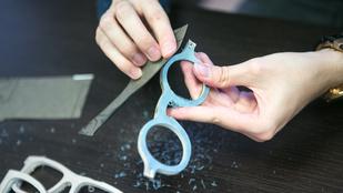 Így készül a kézműves szemüveg