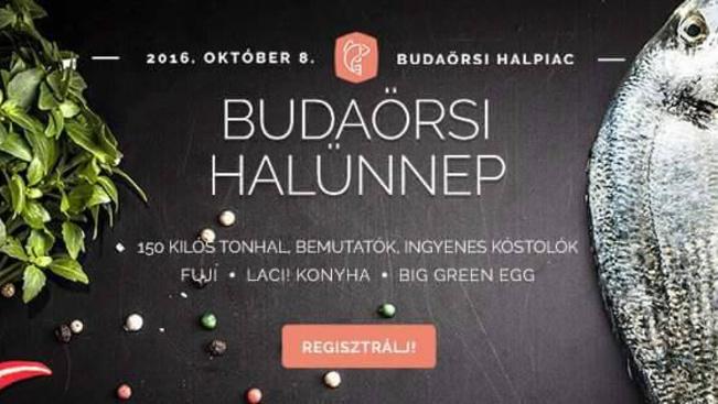 Egy 150 kg-os tohnalat is szétszednek a Budaörsi Halünnepen