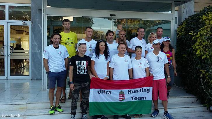 A magyar csapat a verseny előtt
