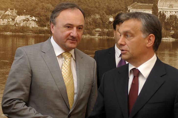 Csáky Pál és Orbán Viktor