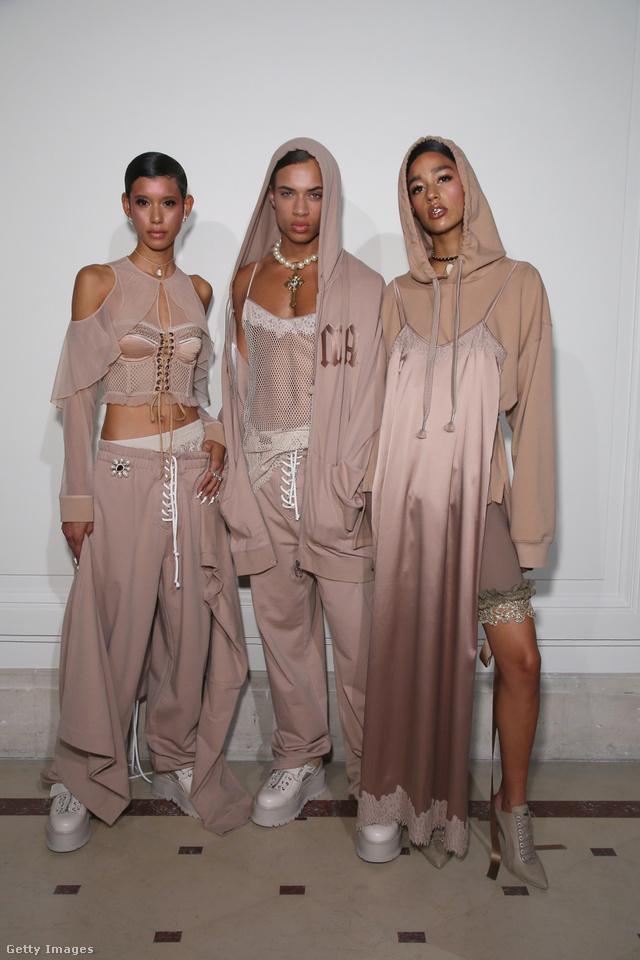 A New York-i Kanye West kollekcióhoz tudnánk a leginkább hasonlítani a látottakat.