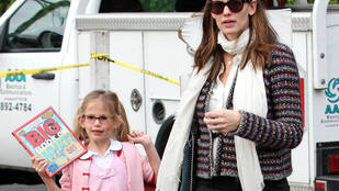 Jennifer Garner kissé bepánikolt, hogy lánya mindjárt tinédzser