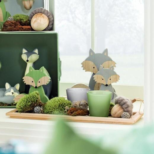 Zöld rókák - zöld gyertyák