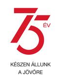 75 Year Logo text HU