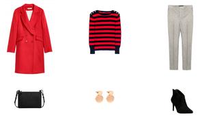 Heti kedvenc: piros kabát, hogy kitűnjön a szürke tömegből
