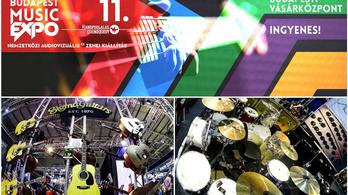 Péntektől több mint tízezer hangszert próbálhat ki Budapesten