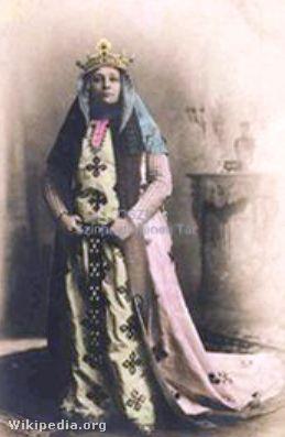 Jászai Mari Gertrudis szerepében, 1872-ben