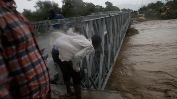 Már halálos áldozatai is vannak a Matthew hurrikánnak