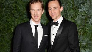 Benedict Cumberbatch és Tom Hiddleston barátsága gyönyörű