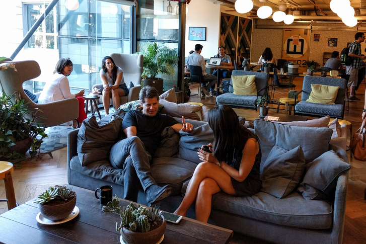 WeWork coworking-iroda Tel-Avivban