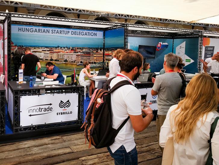 Magyar pavilon a DLD fesztiválon