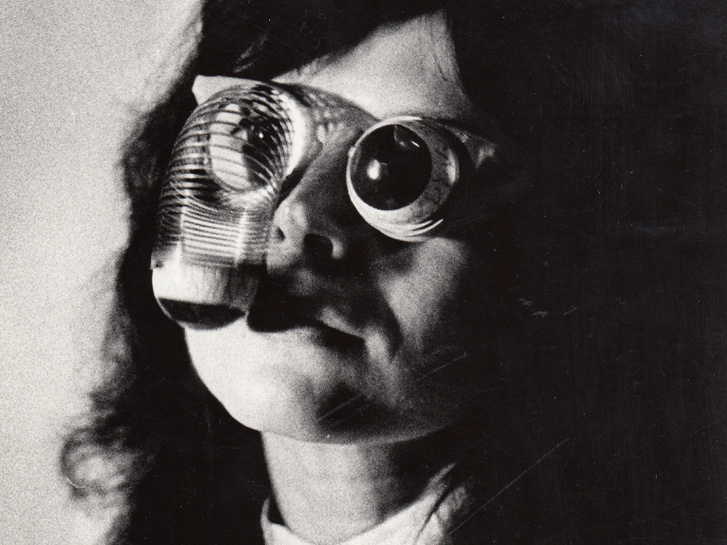 Eyes, Lazukic Ana fotója Ladik Katalinról, 80-as évek