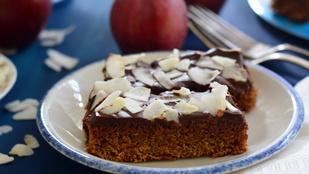 Pénteki süti: csokis-kókuszos gluténmentes