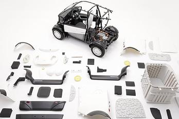 3D nyomtatással készített kisautót a Honda
