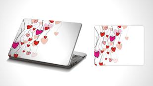 Lehet egyedi laptop- és telefonmatricája egyszerűen