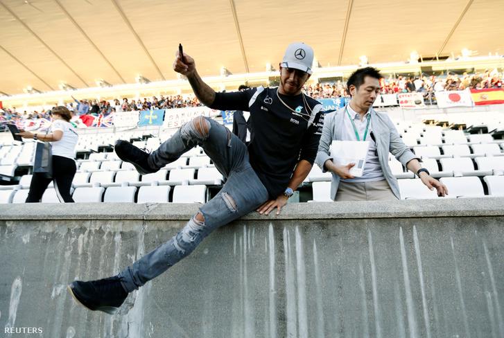 Lewis Hamilton Szuzukában