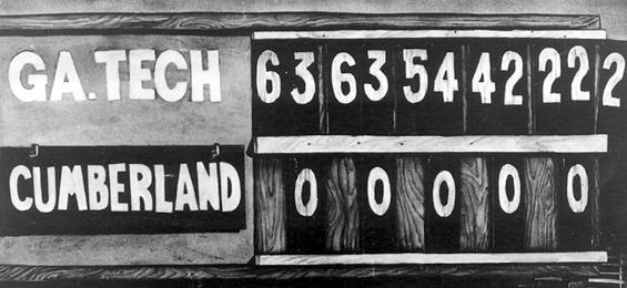 GT Cumberland 222 scoreboard