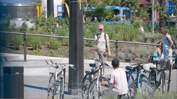Nem szép dolog biciklit lopni a Moszkván!