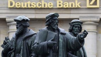 Százmilliós büntetést kapott a Deutsche Bank