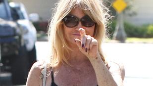 Goldie Hawn egy másik dimenzióban öregszik