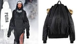Menő vagy ciki a Rihanna féle bomber-hátizsák?