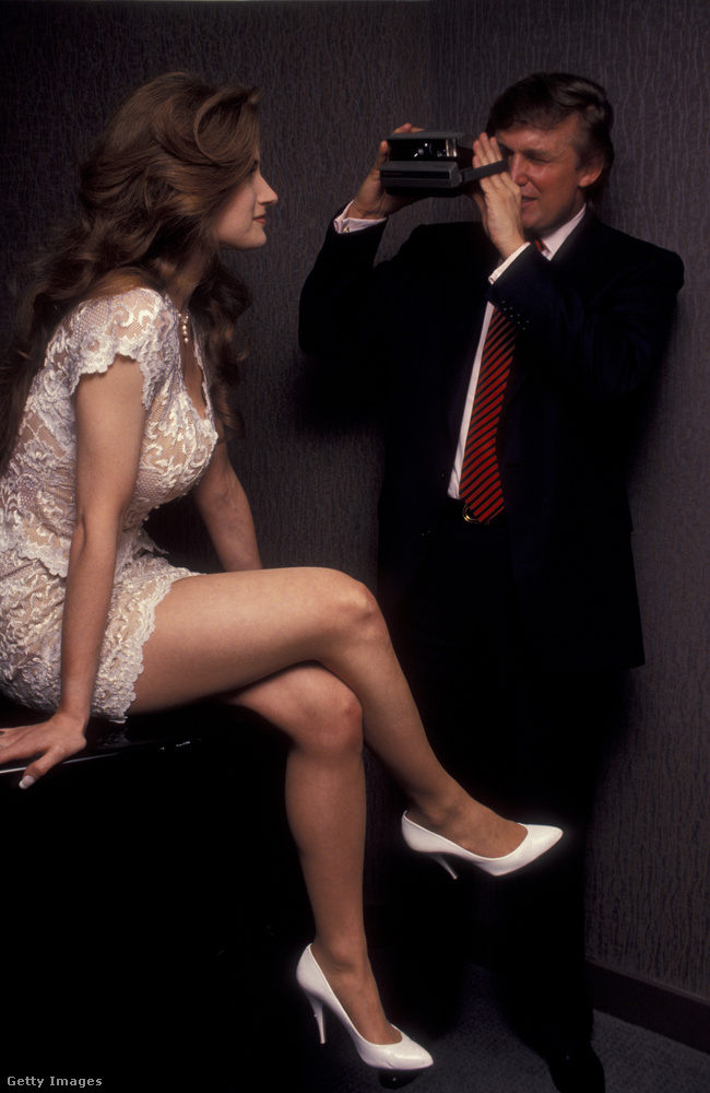 Trump 1993-ban, a Playboy magazin 40