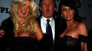 Egy undorító galéria: Donald Trump és a nők