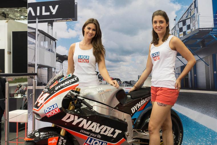Jonas Folger Moto2-es versenygépe - ahogyan a teljes élmezőny, Folger is a Kalex váz mellett döntött, jelenleg a hetedik helyen áll a világbajnokságban.