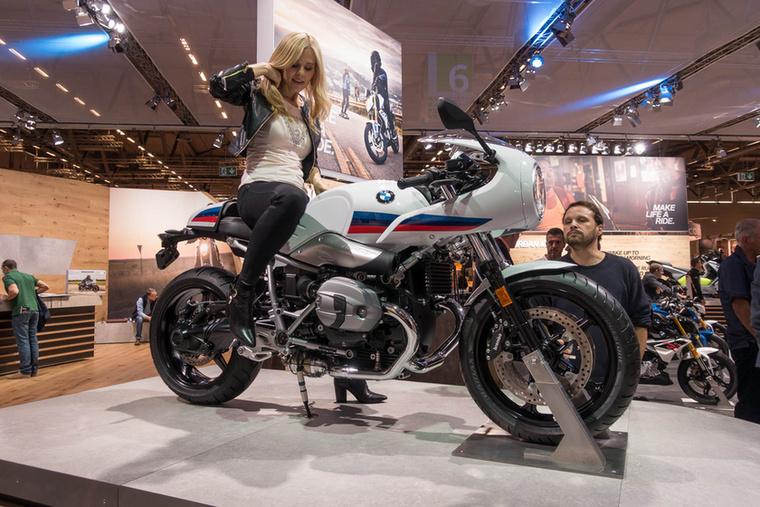A BMW nagyon rákapott a nineT vonalra
