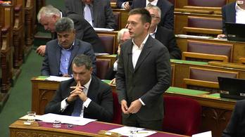 Keményen nekiestek Luxus Tóninak a parlamentben