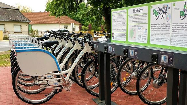 Télen csak neten kölcsönözhetünk zöld e-bringát