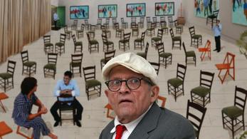 David Hockney készíti a