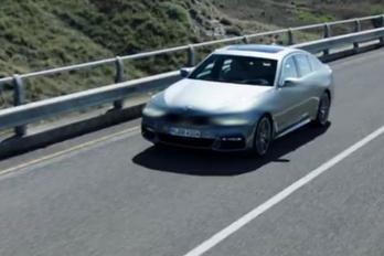 Megvillan az új 5-ös BMW