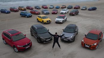 Közülük választják 2017 Év Autóját