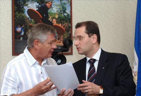 Hunvald és Gál 2008-ban