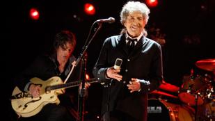 Bob Dylan nyerte az irodalmi Nobel-díjat