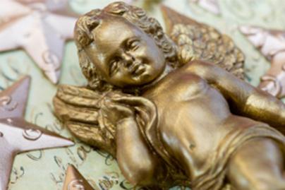 angyal szobor kicsi