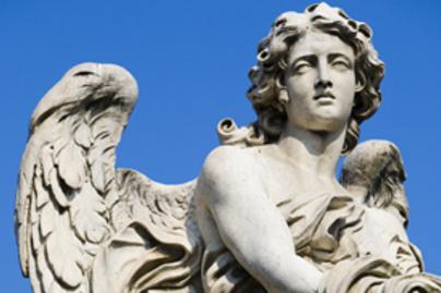 szobor angyal lead