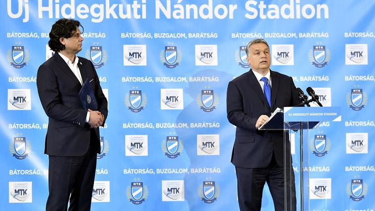 Orbán: Ha van tó, lesz béka is, ezért épülnek stadionok