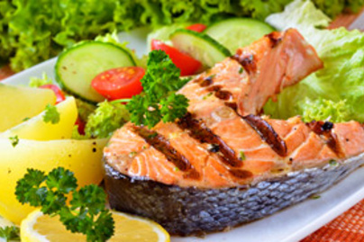 grillezett hal salata