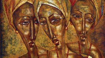Fekete pálcikaemberek? Ez lenne az afrikai kortárs művészet?