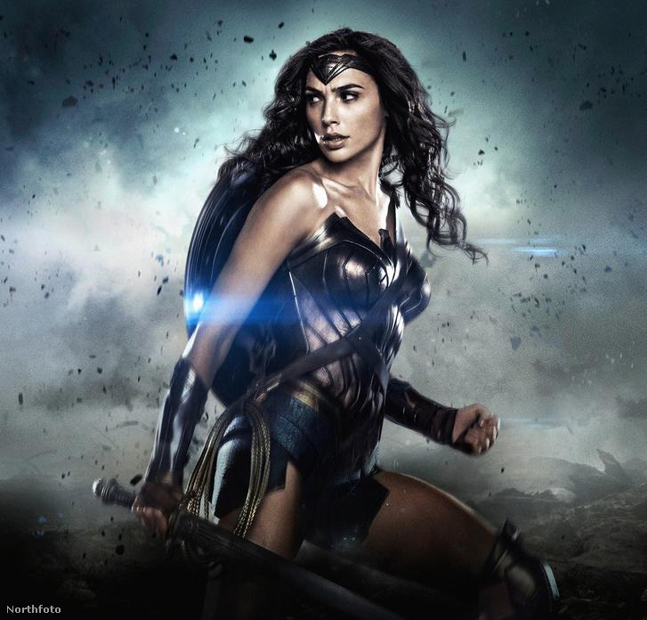 Gal Gadot Wonder Woman szerepében